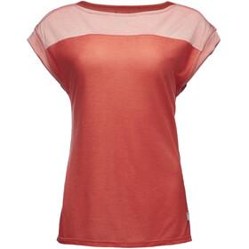 Black Diamond Cottonwood - Camiseta manga corta Mujer - rojo